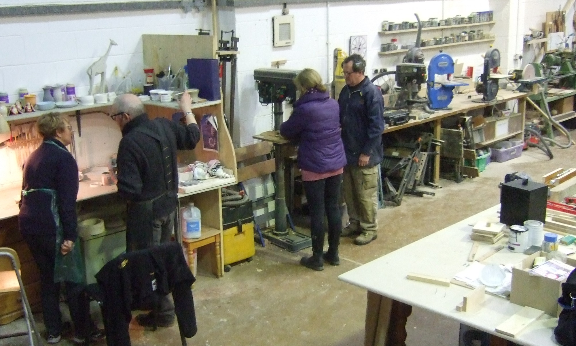 Men & Women in Sheds